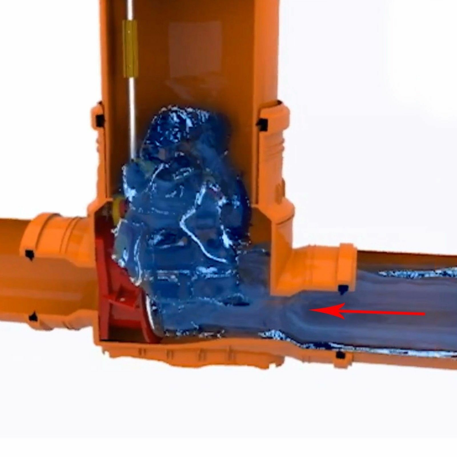 KG Schacht DN 400 Rohr DN400//DN315 quadrat voll Deckel DN315 Kanal Entwässerung